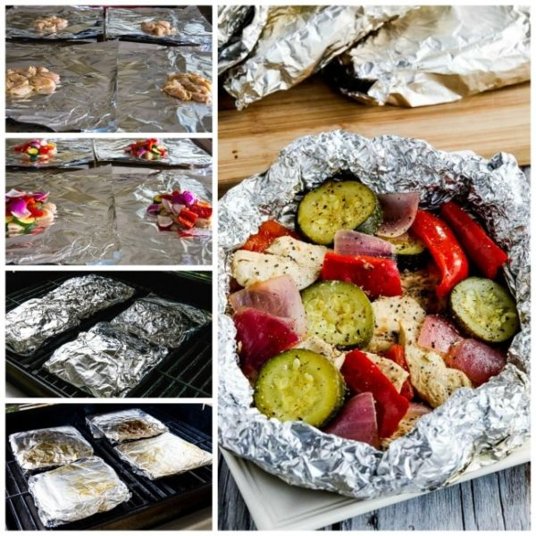 Low-Carb Tin Foil Dinners found on KalynsKitchen.com