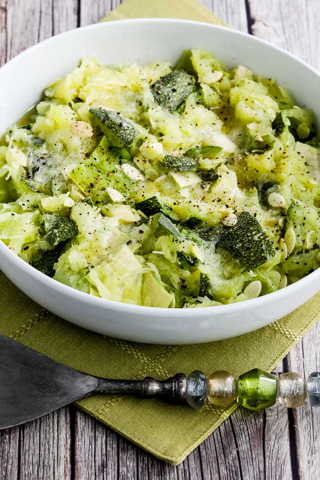 Close-up photo for How to Cook Unripe Spaghetti Squash as a Summer Squash