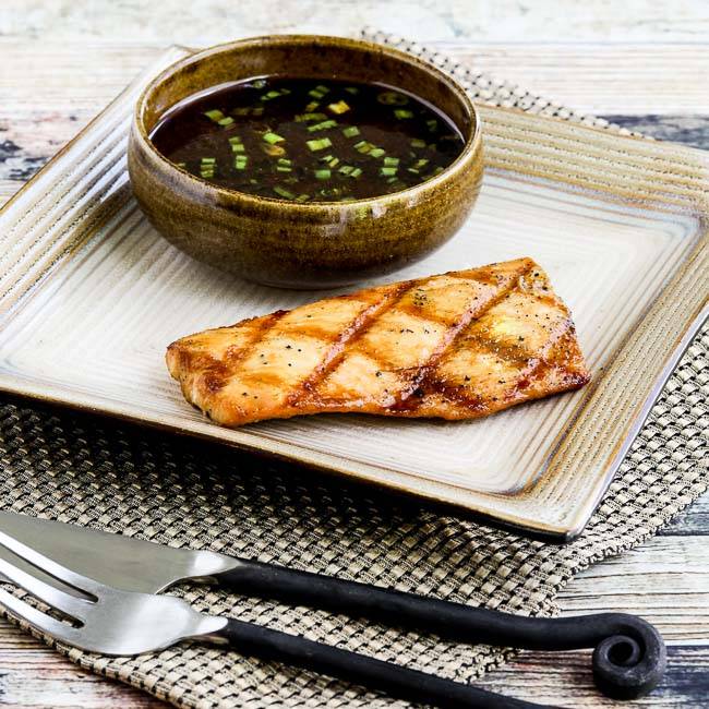 Soy-Grilled Mahi Mahi with Korean Dipping Sauce thumbnail photo