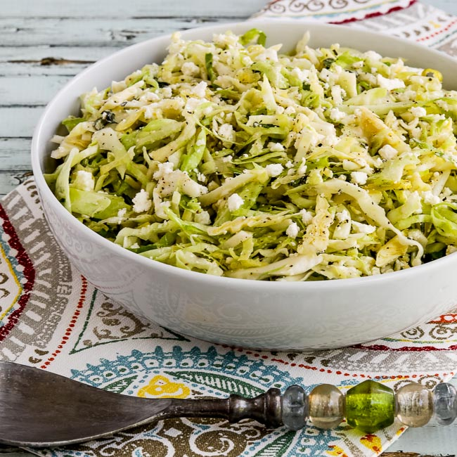 Thumbnail photo for Low-Carb Greek Cabbage Salad