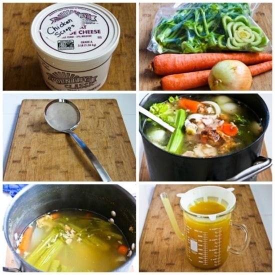 How to Make Chicken Stock found on KalynsKitchen.com