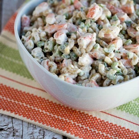 Family Favorite Shrimp and Macaroni Salad