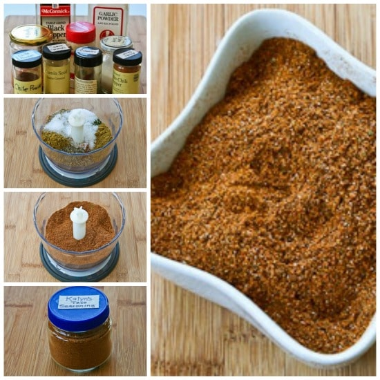 Kalyn's Taco Seasoning Mix found on KalynsKitchen.com