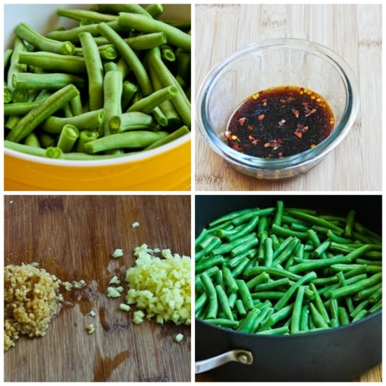 Spicy Sichuan Style Green Beans from KalynsKitchen.com