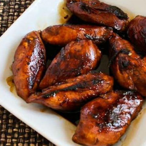 Filipino Chicken Adobo Chicken Cooked In Soy Sauce And Vinegar Kalyn S Kitchen