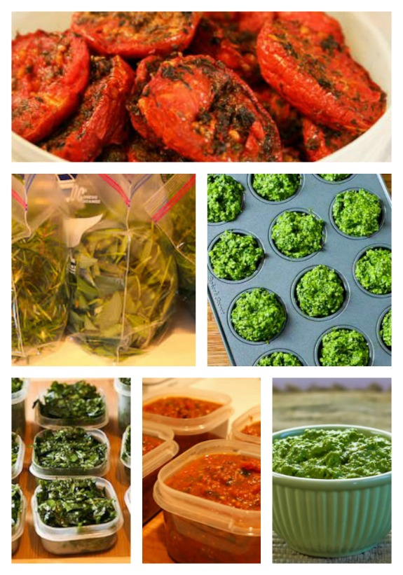 Tips for Freezing Fresh Herbs, Garden Tomatoes, and Vegetables - Kalyn's Kitchen