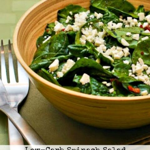 Spinach Salad With Bacon And Feta Kalyn S Kitchen