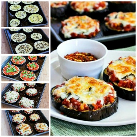 Julia Child's Eggplant Pizzas found on KalynsKitchen.com