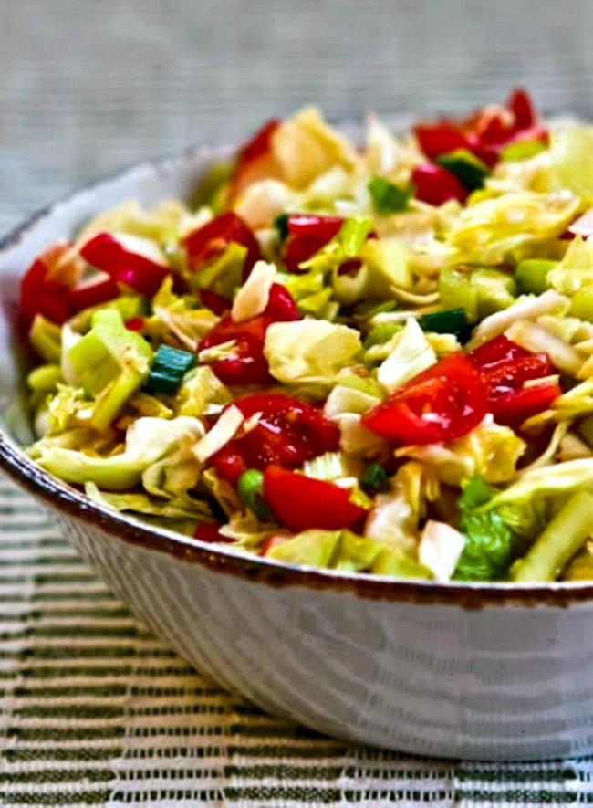 Puerto Rican Spicy Cabbage Salad