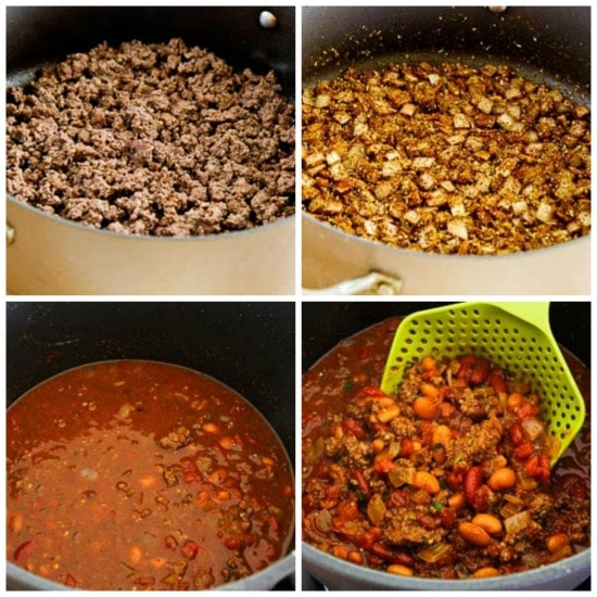 Easy Taco Soup from A Pinch of Salt Lake found on KalynsKitchen.com