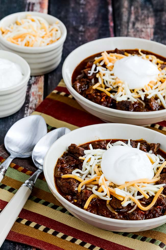 Instant Pot All Beef Ancho And Anaheim Chili Video Kalyn S Kitchen