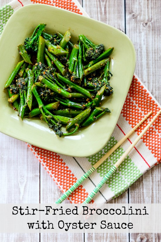 Stir-Fried Broccolini with Oyster Sauce