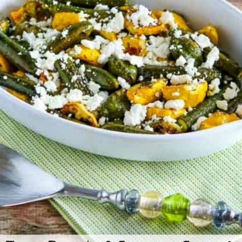 Baby Summer Squash with Feta and Thyme