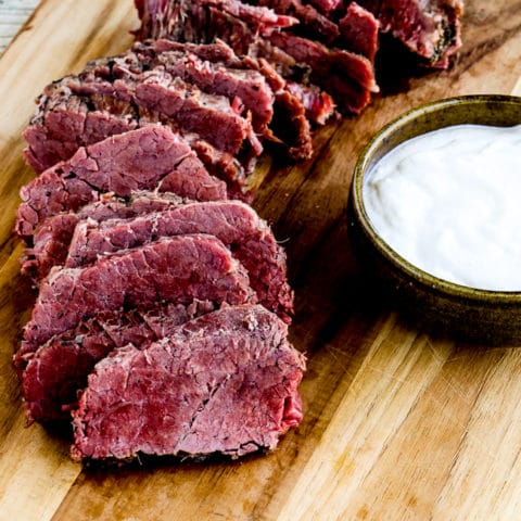 Instant Pot Corned Beef With Creamy Horseradish Sauce Kalyn S Kitchen