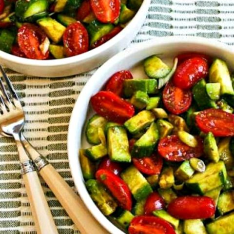 Not-so-Dumb Salad with Cucumber, Tomato, and Avocado