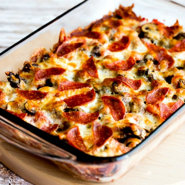 Thumbnail image for Low-Carb Deconstructed Pizza Casserole