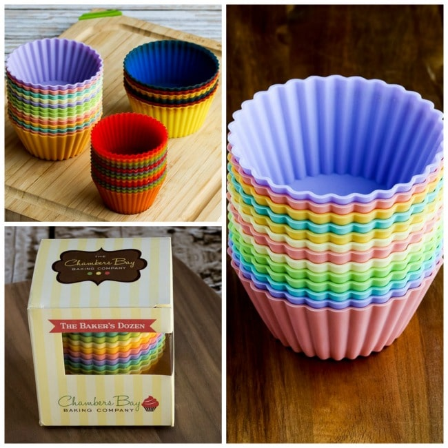 Silicone Baking Cups collage photo