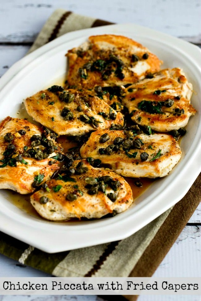 Chicken Piccata with Fried Capers (Video)
