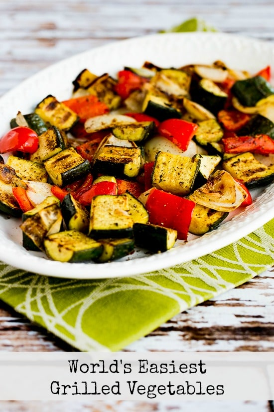 World's Easiest Grilled Vegetables (How to Cook Vegetables on the Grill)