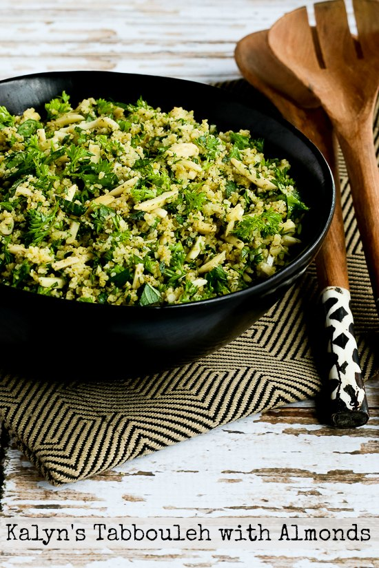 Kalyn's Tabbouleh with Almonds found on KalynsKitchen.com