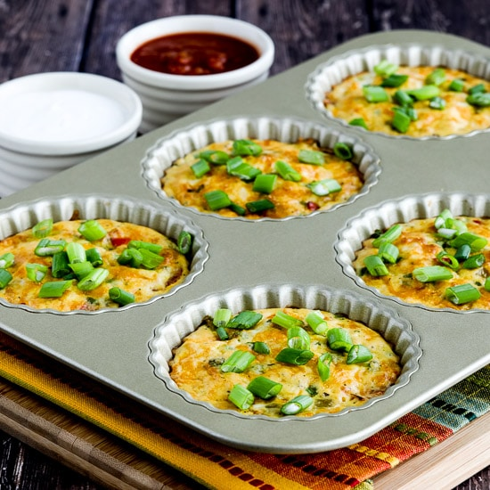 Southwestern Crustless Breakfast Tarts found on KalynsKitchen.com