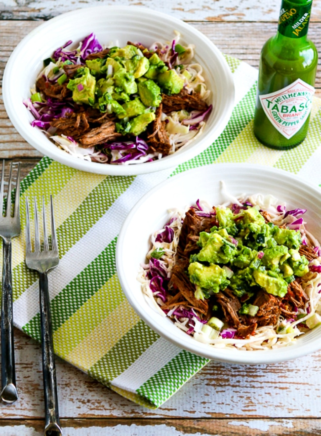 Green Chile Shredded Beef Cabbage Bowl second photo