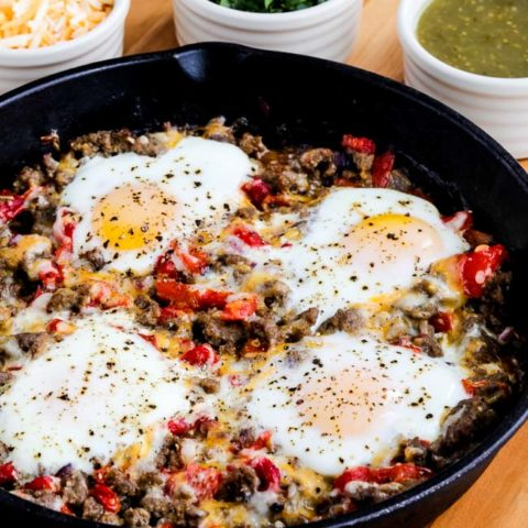 Chester's Low-Carb Southwestern Egg Skillet