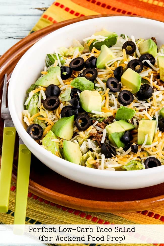 Top Photo for Perfect Low-Carb Taco Salad