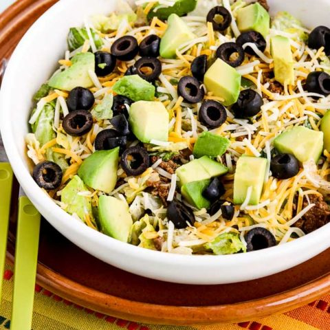 Perfect Low-Carb Taco Salad (for Weekend Food Prep)