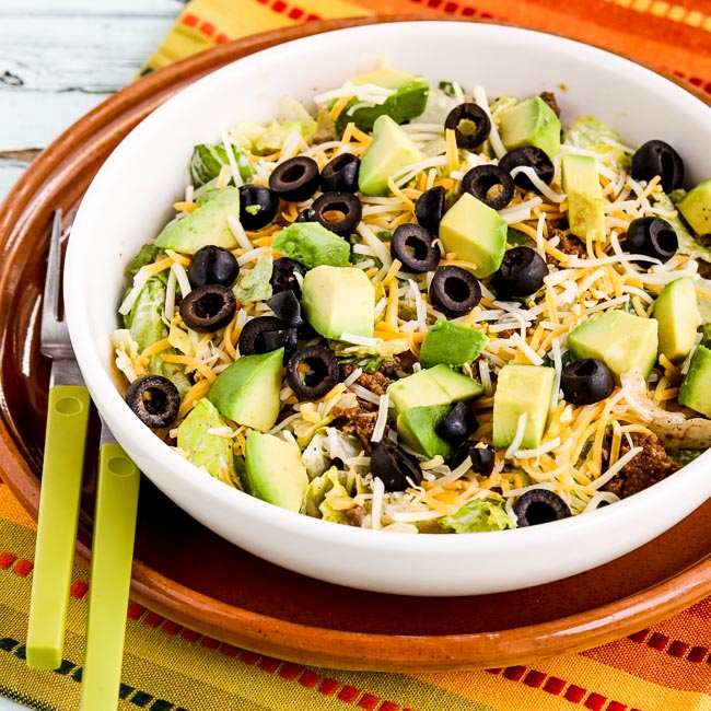 Thumbnail photo for Perfect Low-Carb Taco Salad