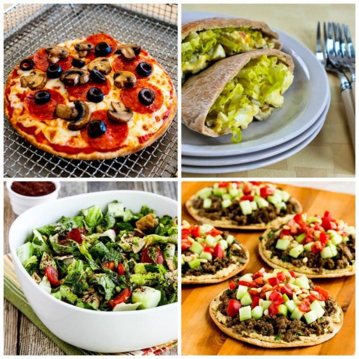 My Favorite Low Carb Pita Bread And Recipe Ideas Using Pita Bread Kalyn S Kitchen