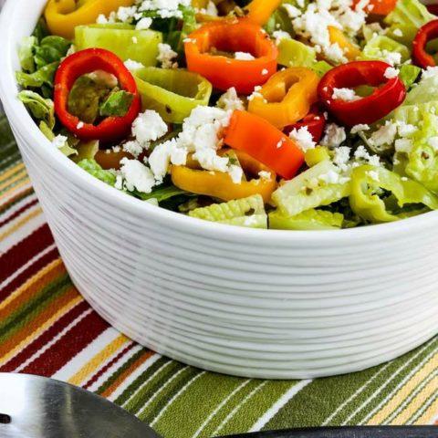 Greek Salad Recipe Pepperoncini