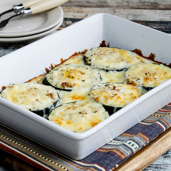 Thumbnail photo for Low-Carb Baked Zucchini Popeye Eggs